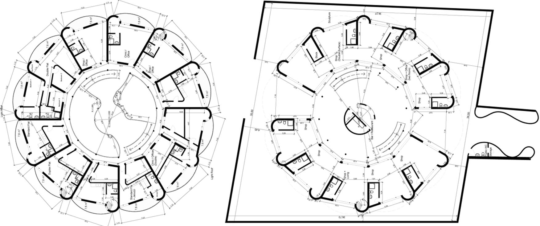 feng shui ground dbs architectes. Black Bedroom Furniture Sets. Home Design Ideas